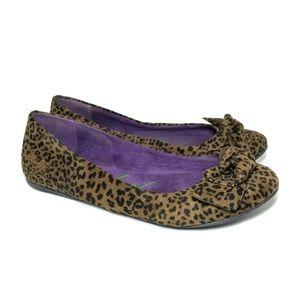 Blowfish Nelda Ballet Flats Cheetah Animal Sz 7.5